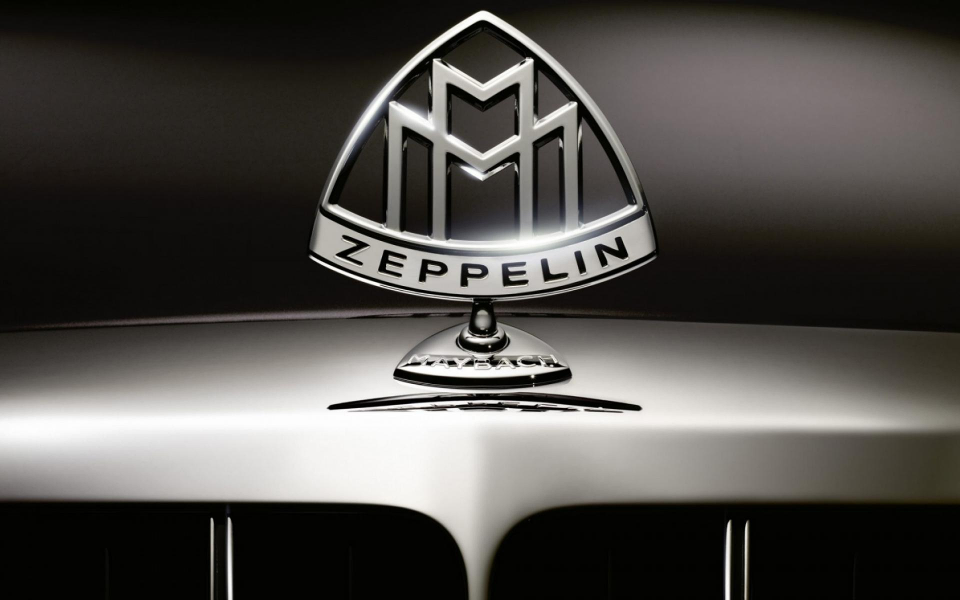 Обои Mayback Zeppelin Logo 1920x1200