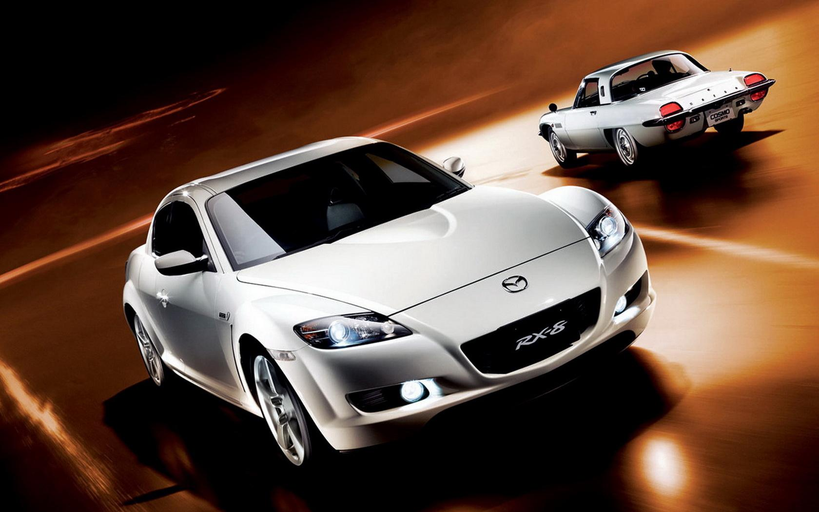 Обои Mazda RX-8 Rotary Engine 40th Anniversary 1680x1050
