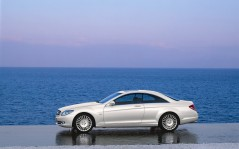 Mercedes-Benz CL Class at Sea / 1600x1200