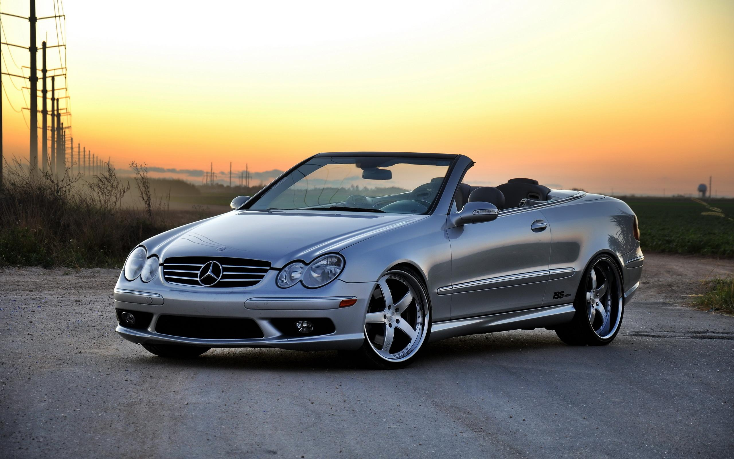 Обои Mercedes Benz CLK500 2560x1600