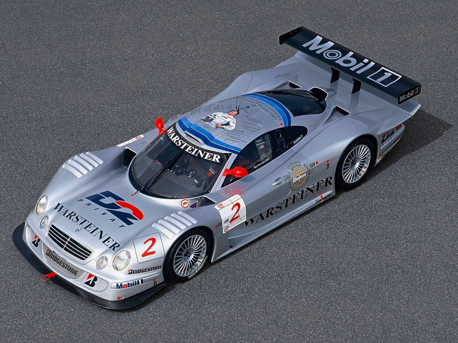 Обои Mercedes-Benz CLK GTR Top 1600x1200