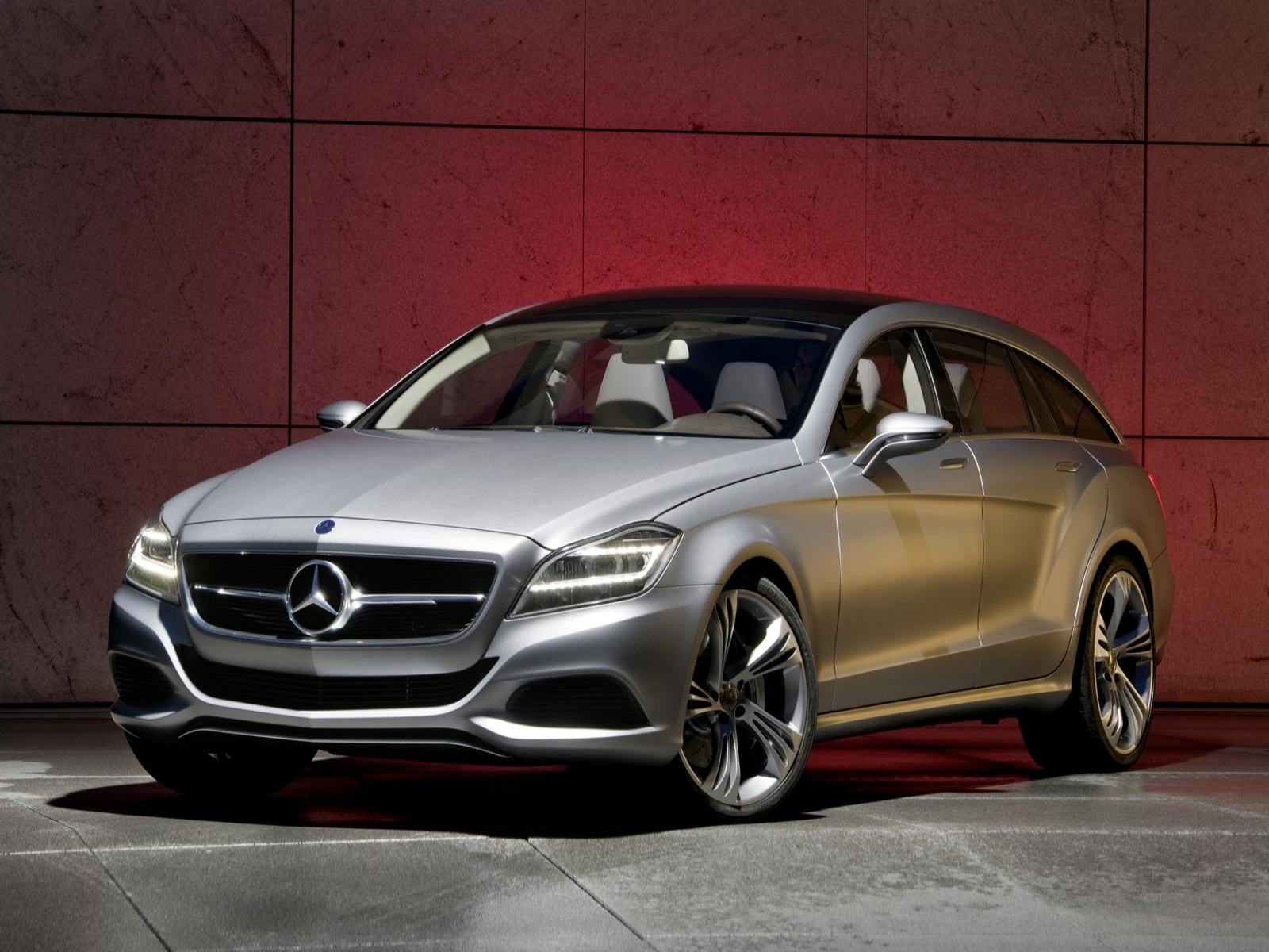 Обои Mercedes-Benz-CLS-Shooting-Break-Concep 1600x1200