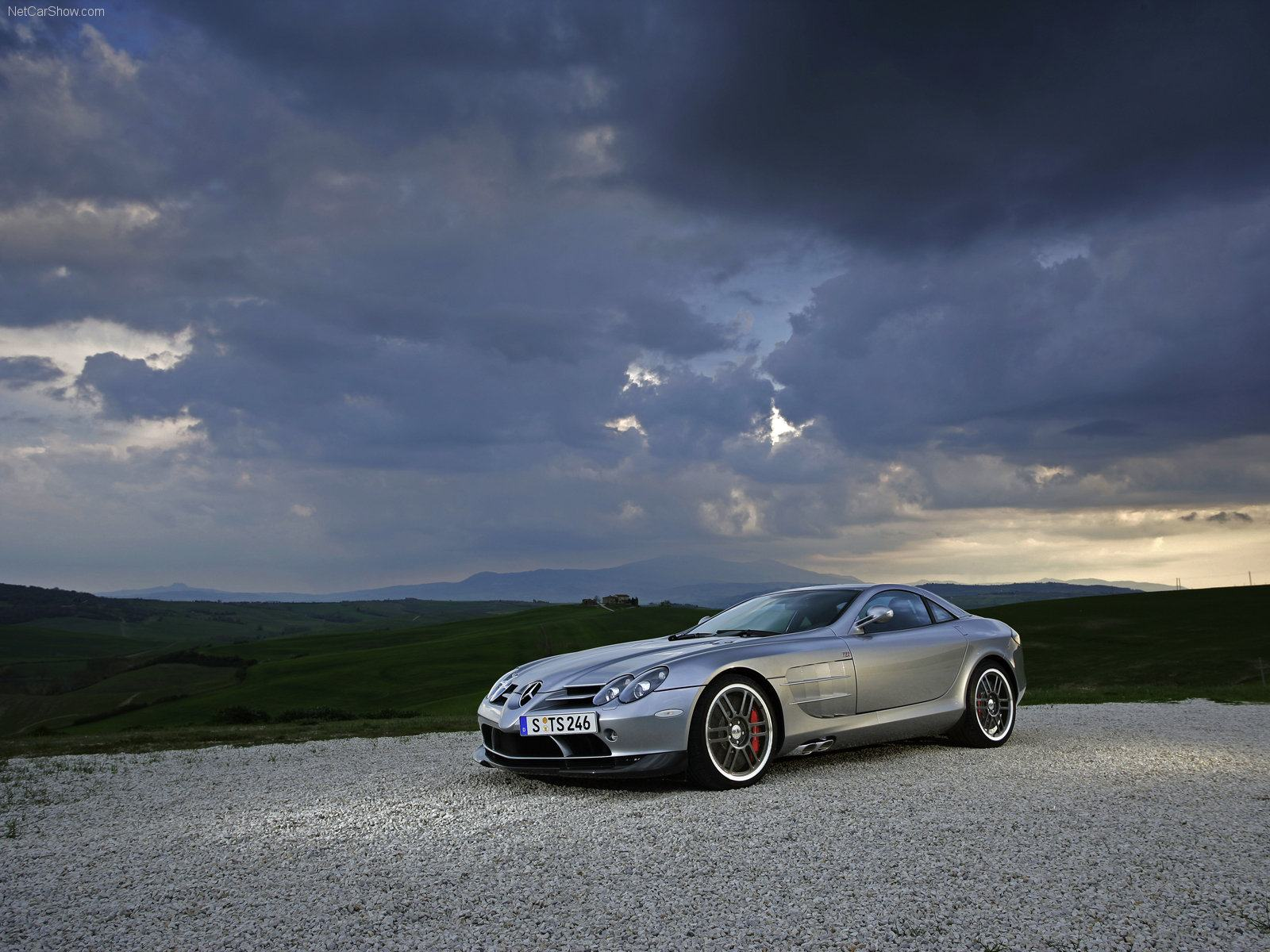 Обои Mercedes-Benz SLR 722 Edition 1600x1200