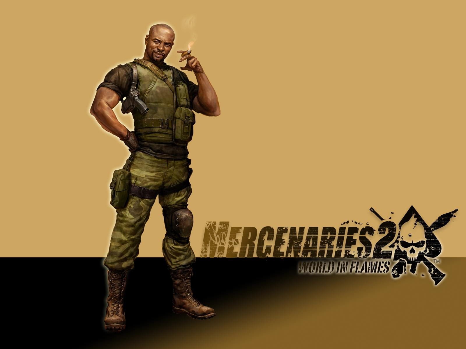 Обои Mercenaries 2: World in Flames 1600x1200