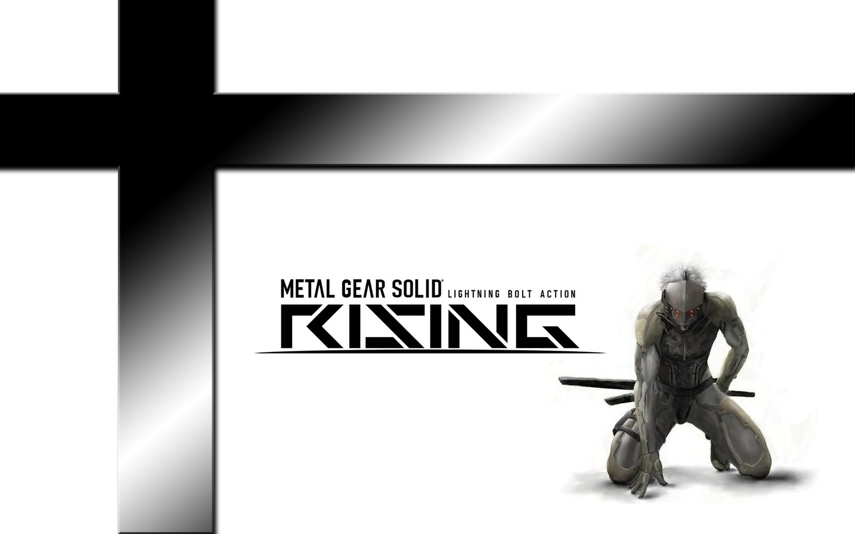 Обои Metal Gear Solid Rising 1680x1050