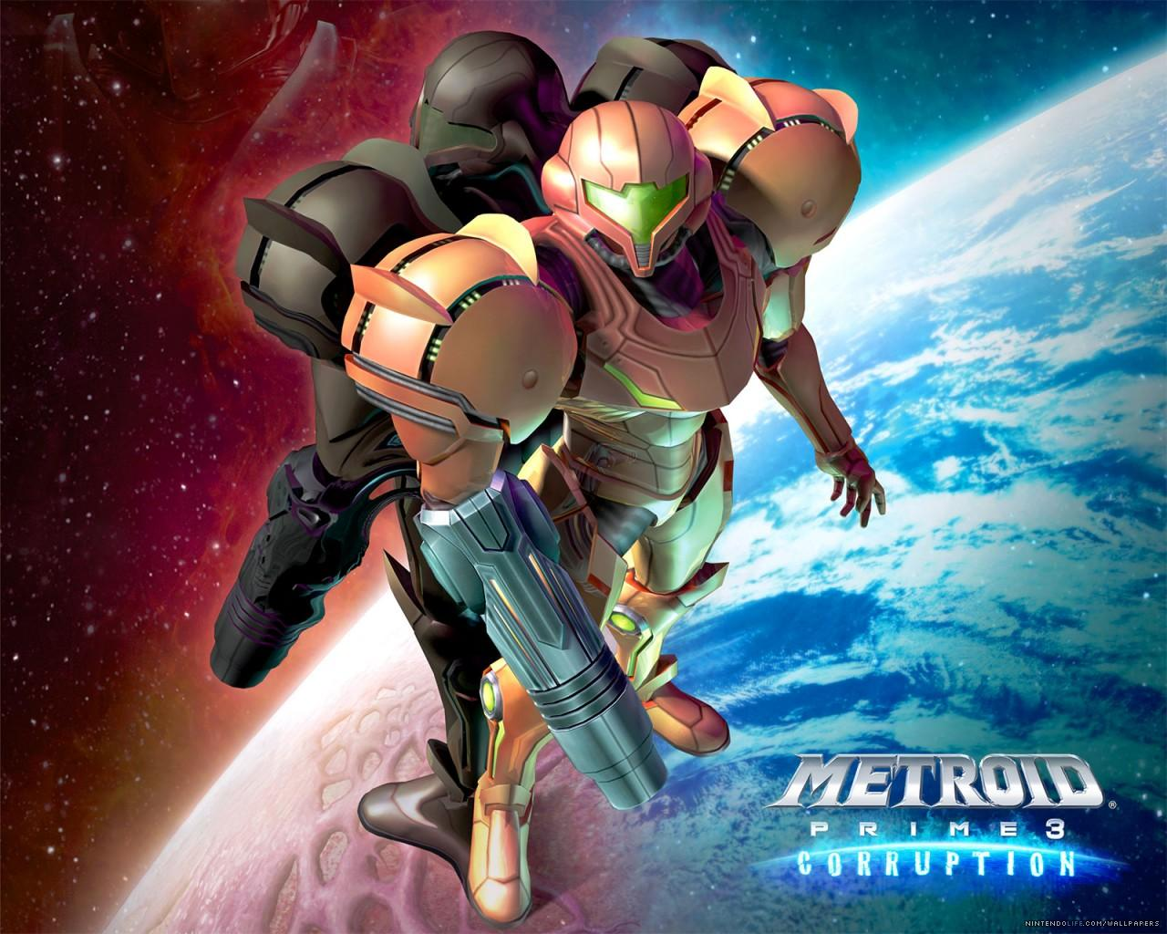 ���� Metroid Prime 3 Corruption 1280x1024