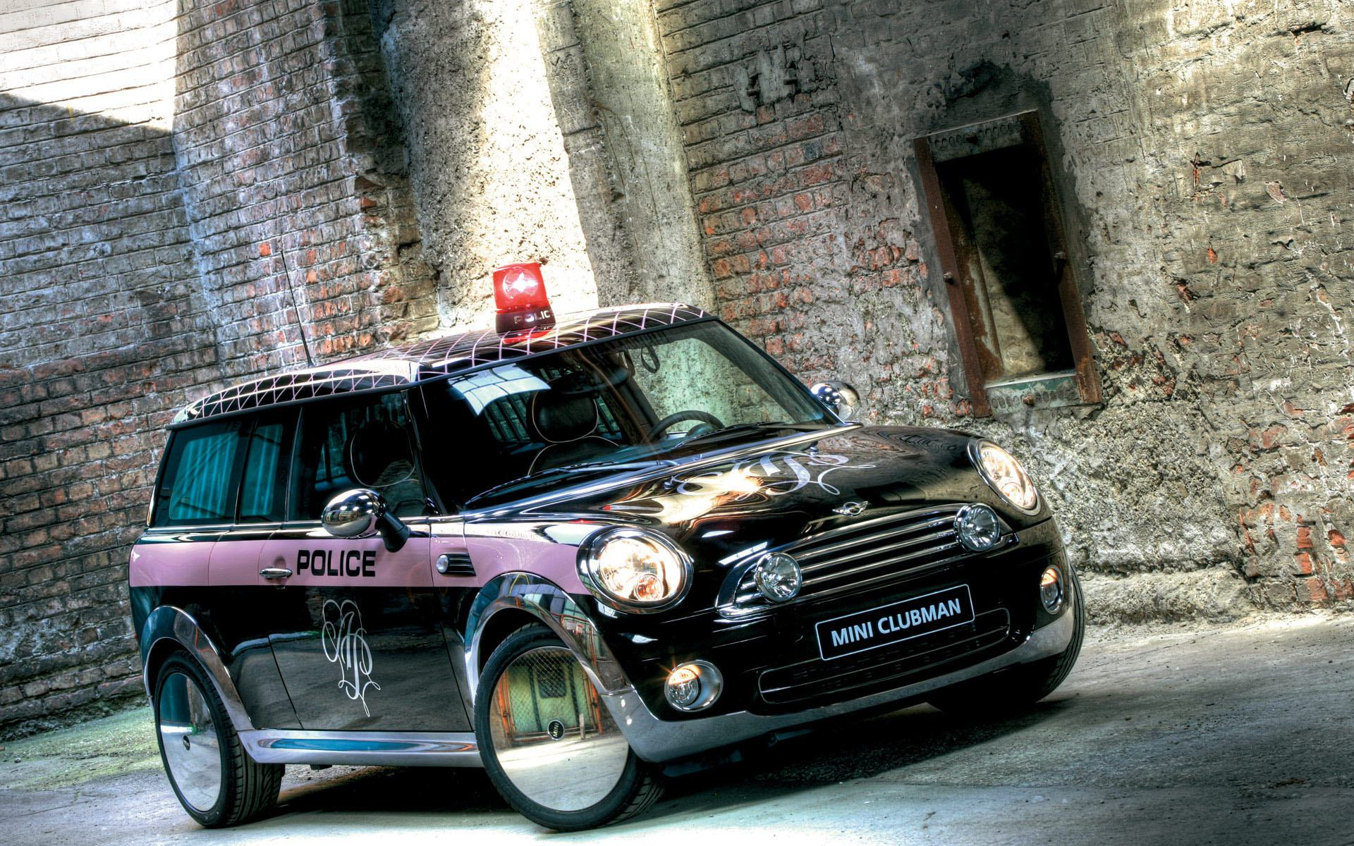 Обои Mini clubman life-ball 1920x1200