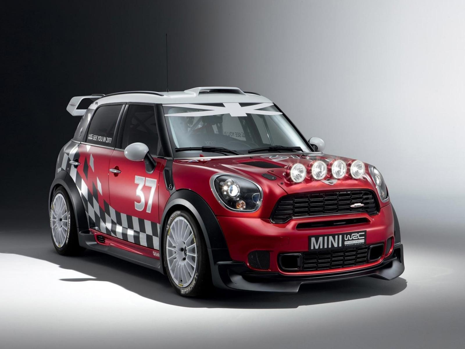 Обои MINI-Countryman-WRC-2011 1600x1200