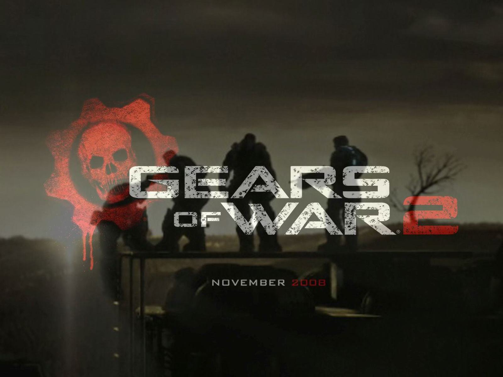 Обои Мир Gears of War 2 1600x1200
