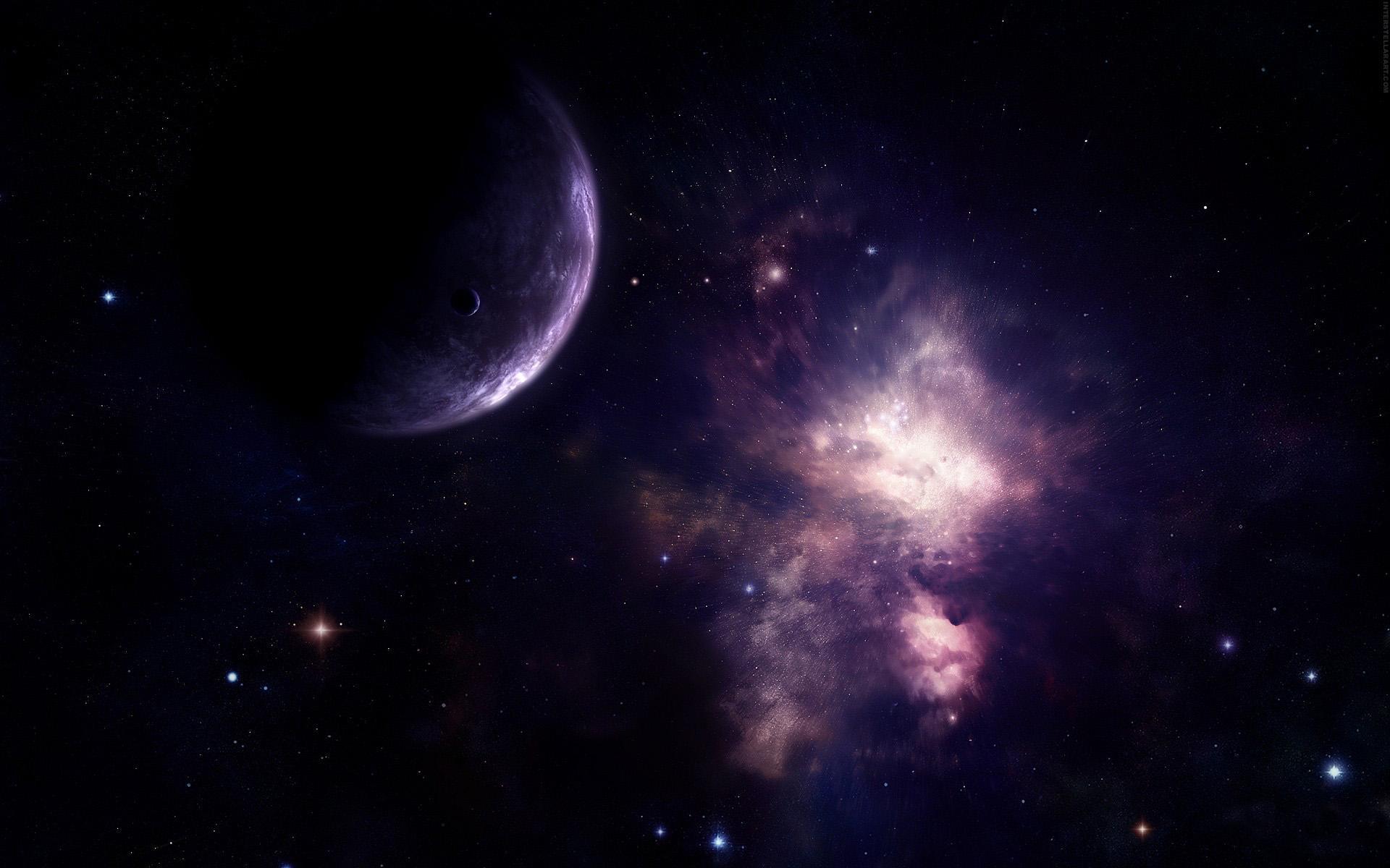 Обои мириады звезд в космосе высокого