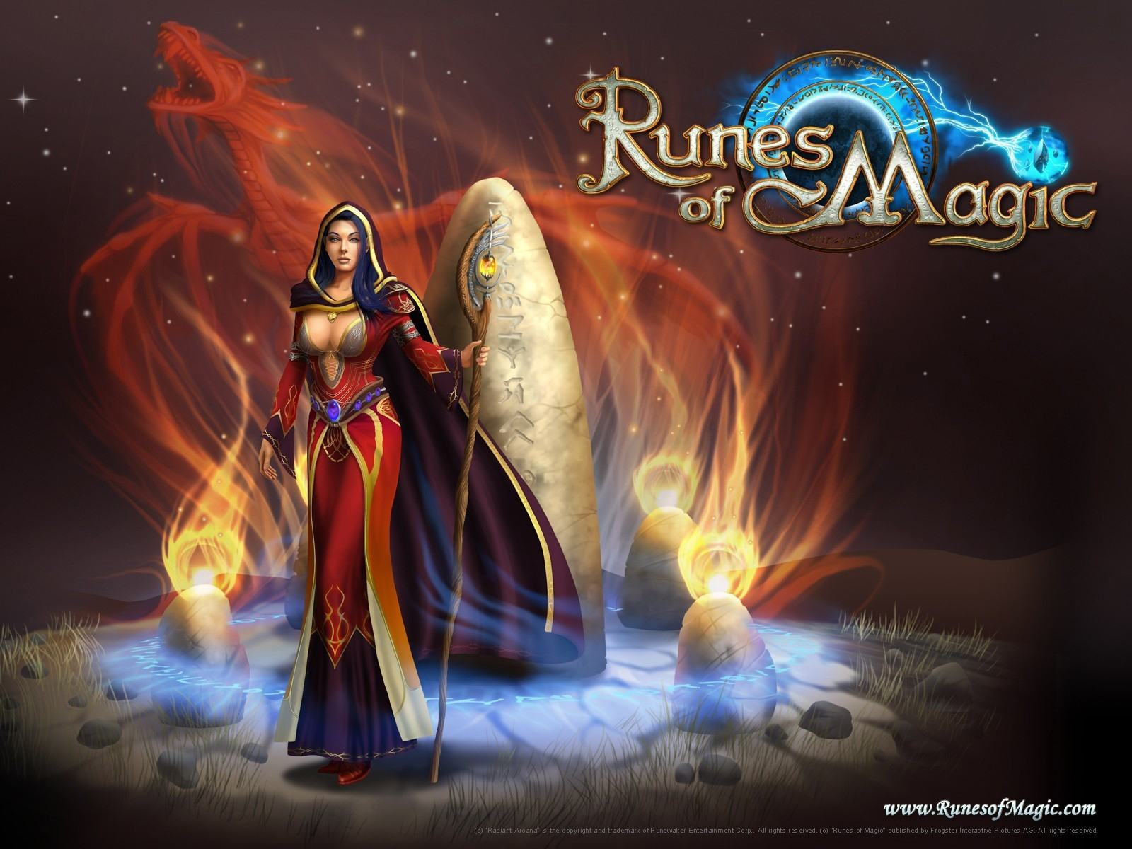 Обои MMORPG Runes of Magic on-line 1600x1200