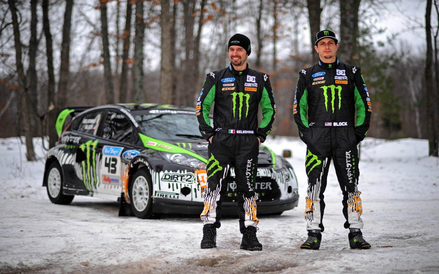 Обои Monster energy 1680x1050