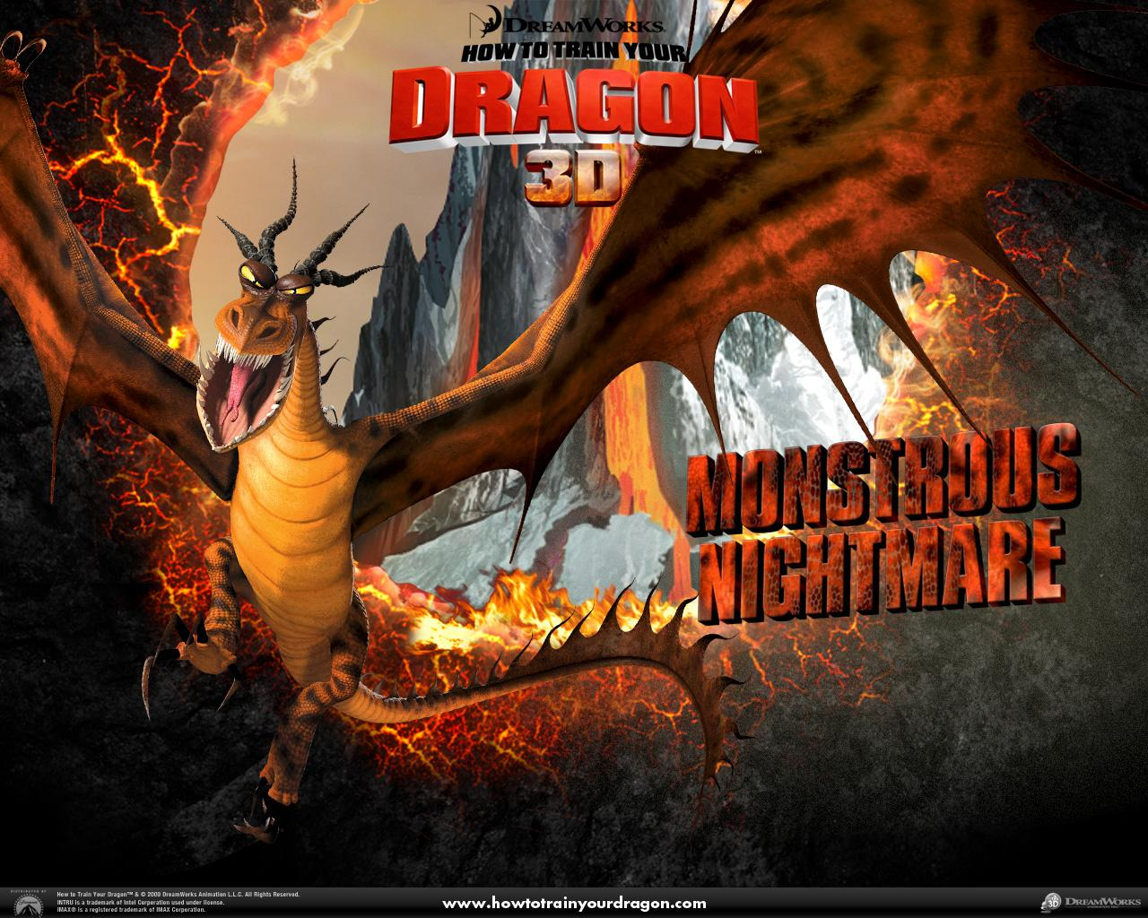 Обои Monstrous Nightmare 1280x1024