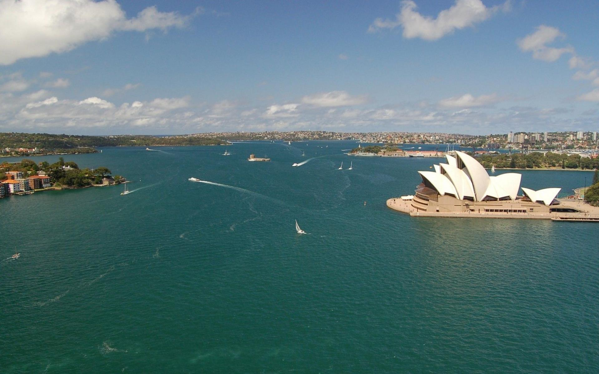 Города морской порт в австралии 1920x1200