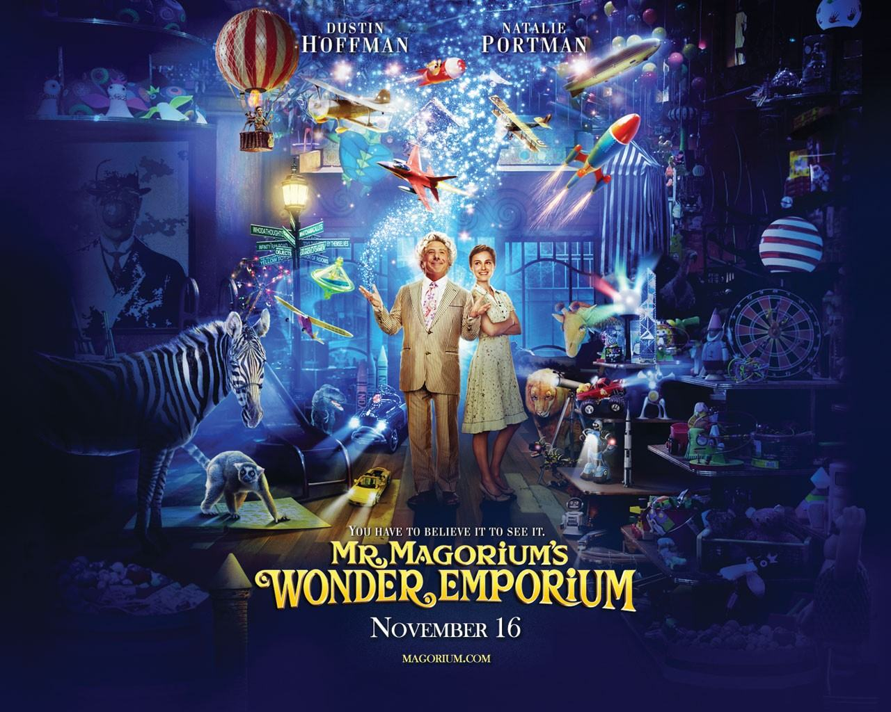 Обои Mr. Magorium's Wonder Emporium 1280x1024