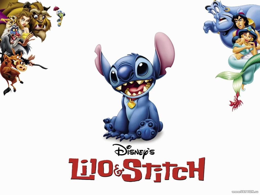 Обои Мультик Lilo and Stitch 1024x768