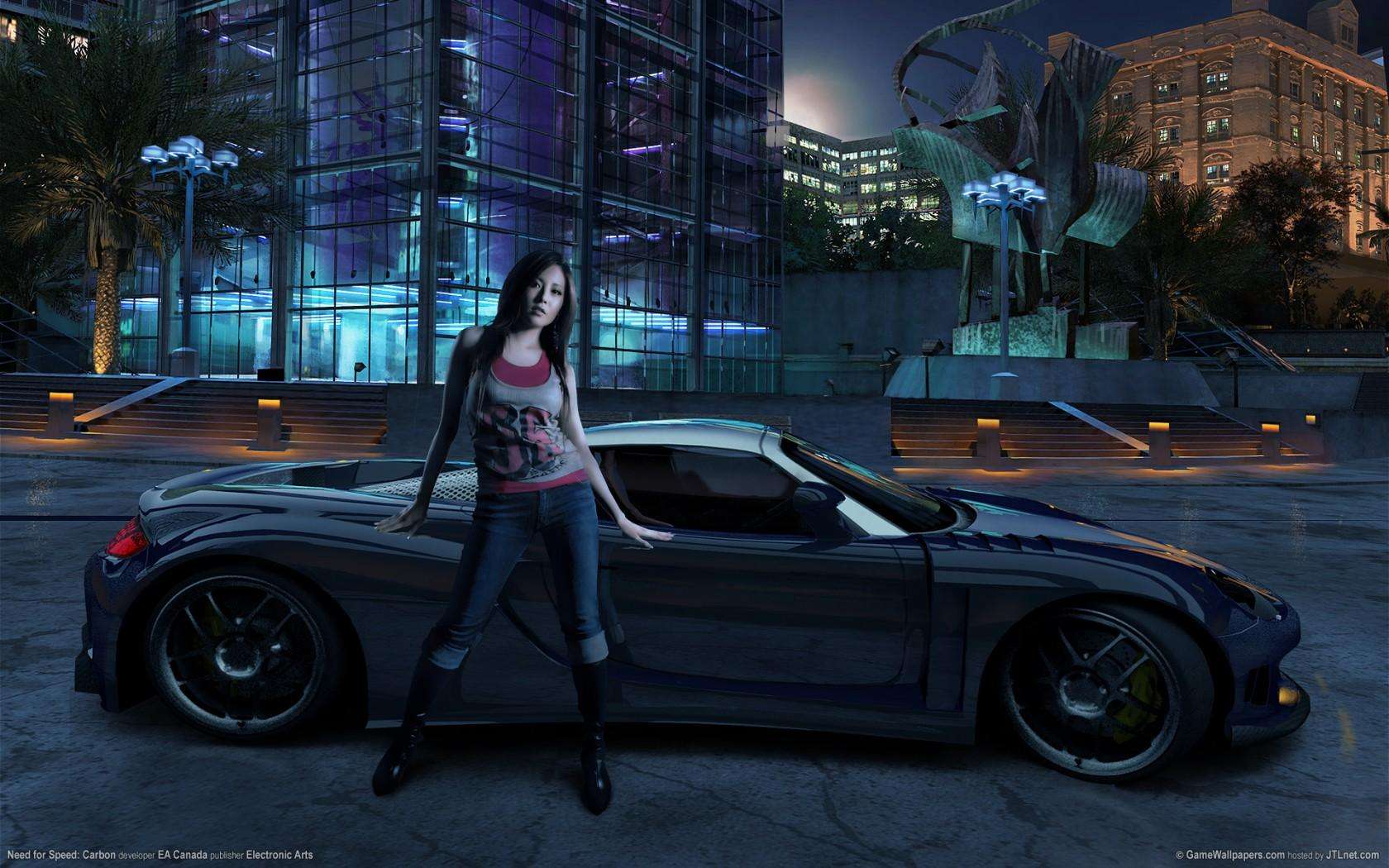 Обои На тему игры Need for speed carbon 1680x1050
