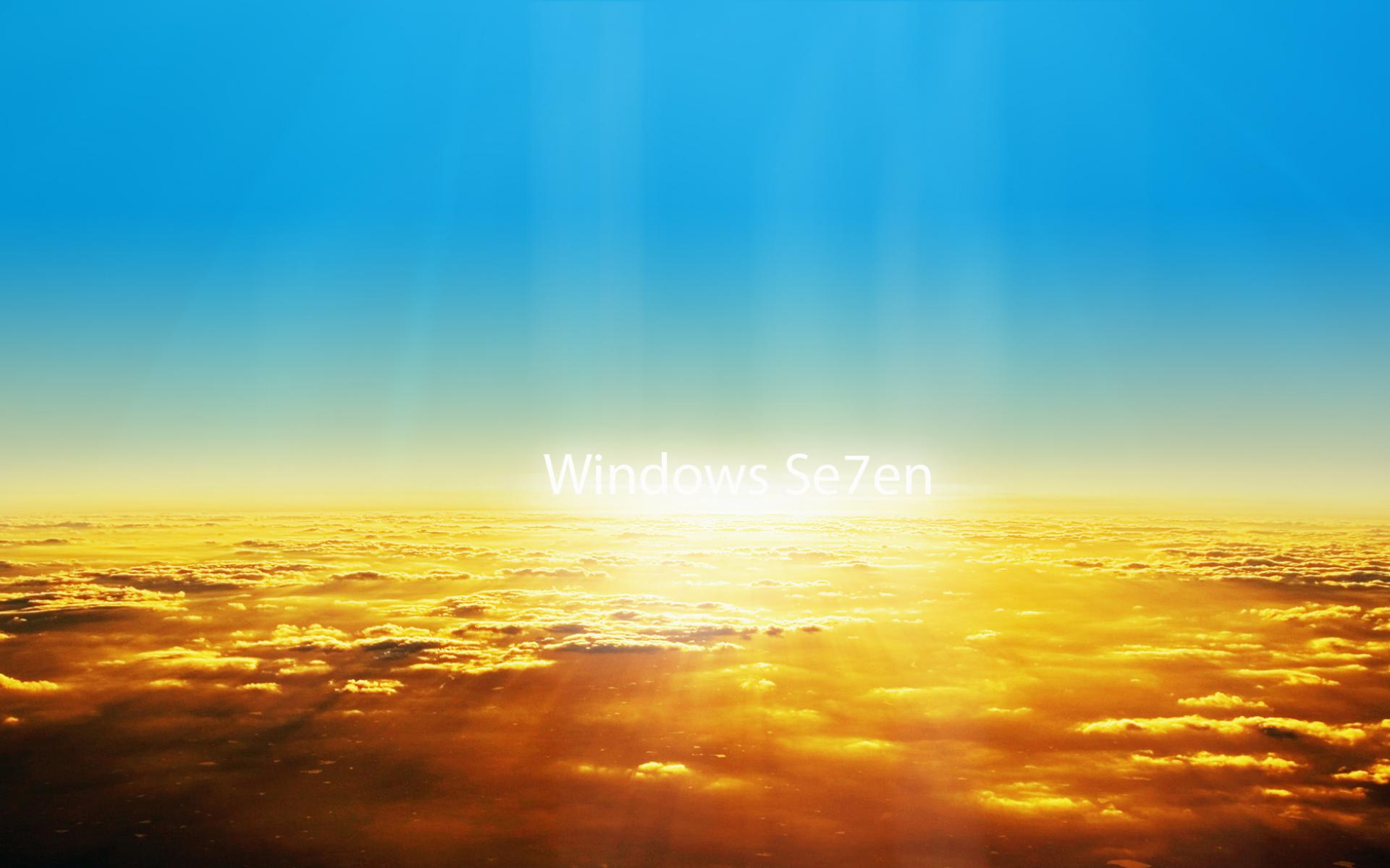 Обои Небеса - Windows 7 1920x1200