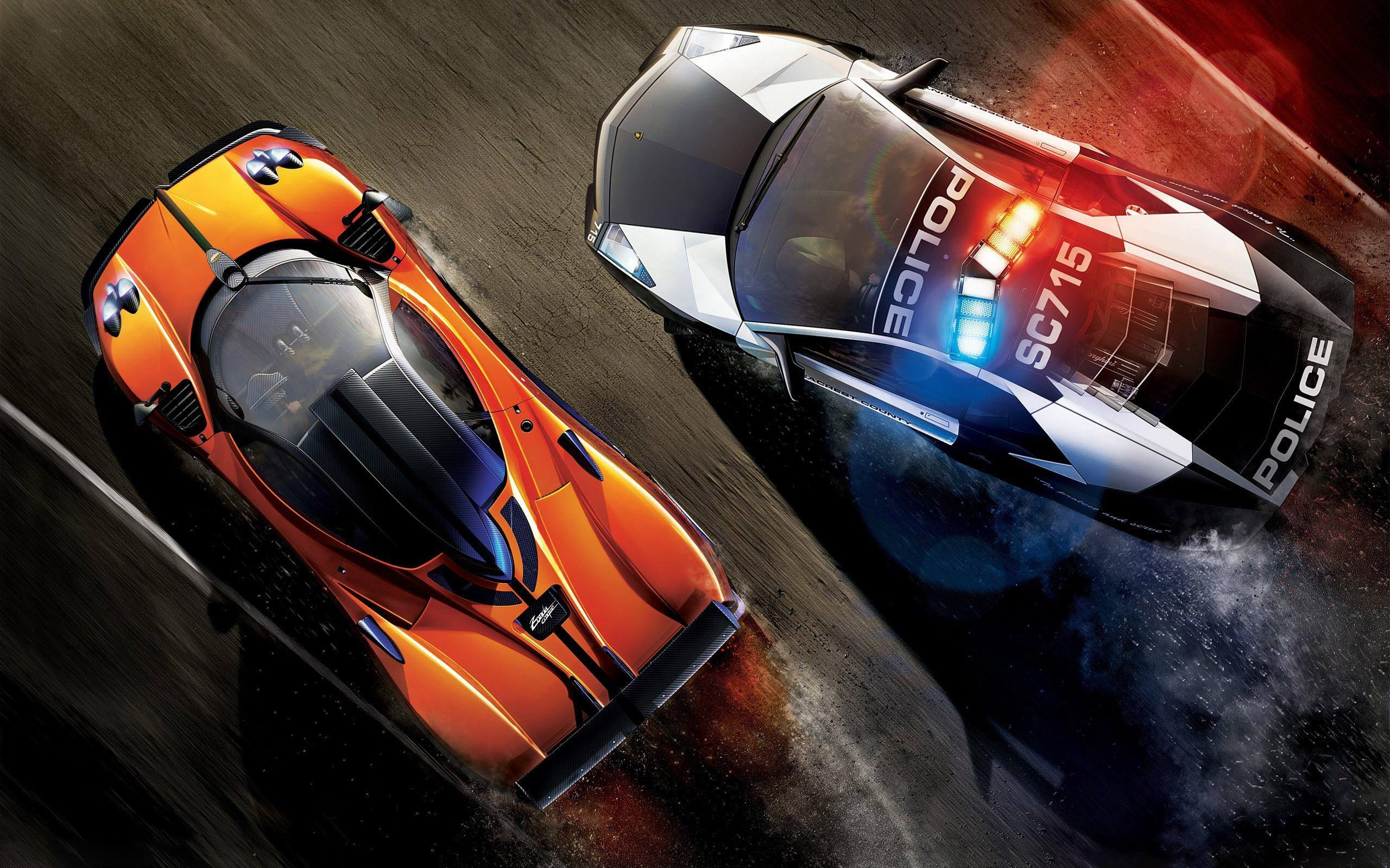 Обои Need for Speed: Hot Pursuit 2560x1600