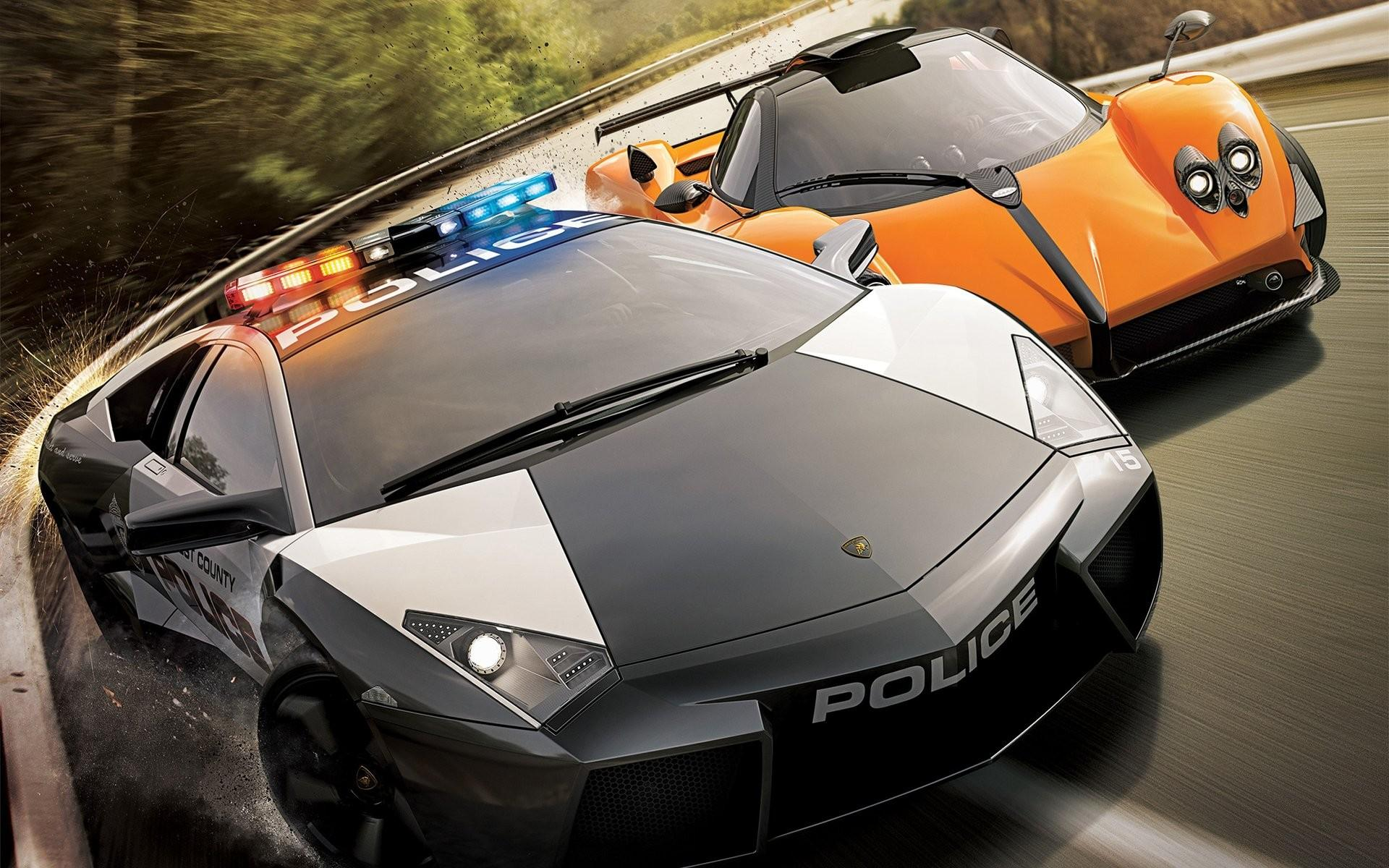 Обои Need for speed: Hot Pursuit 2, Lamborghini VS Pagani 1920x1200