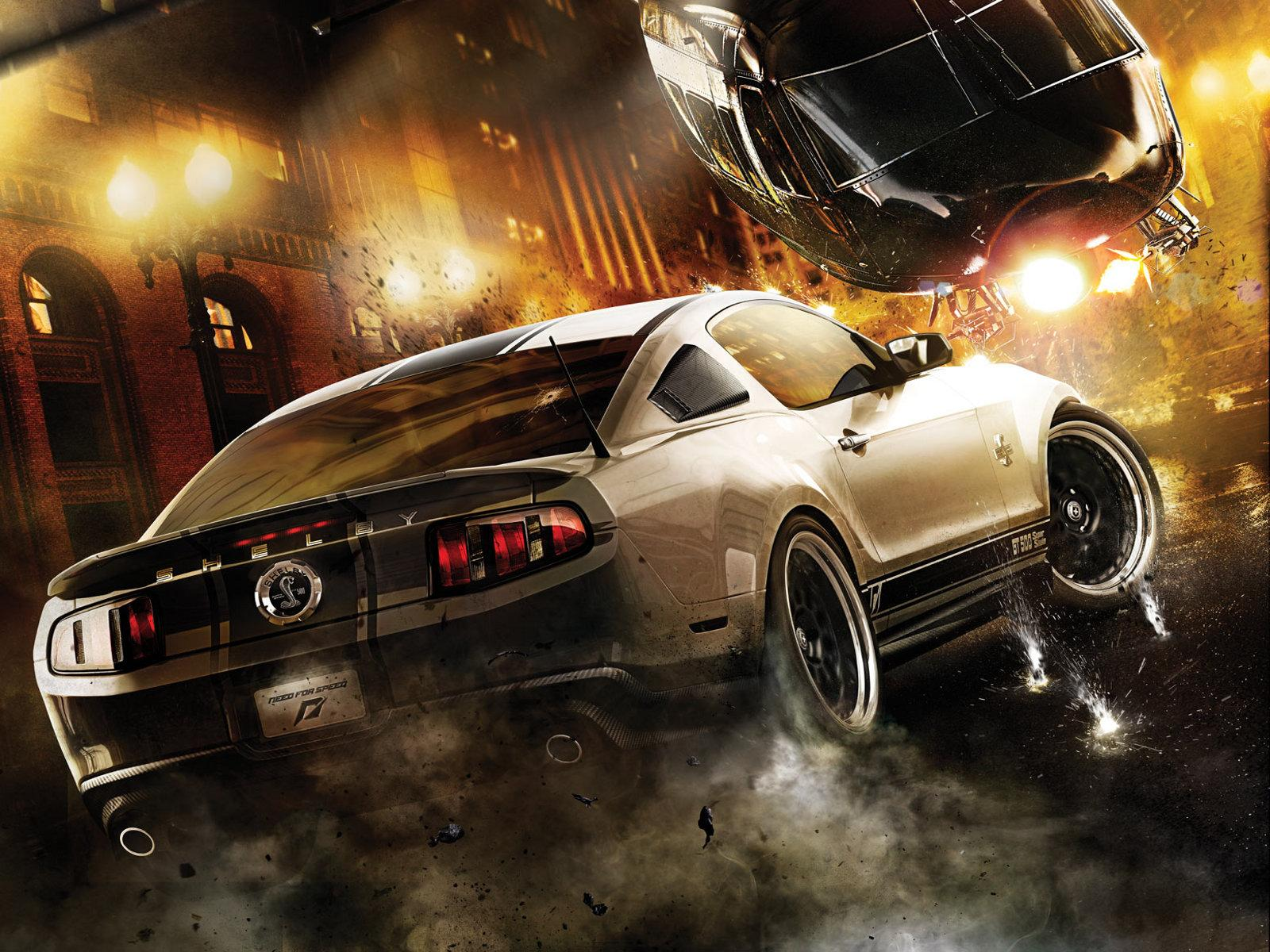 Обои Need for Speed : Побег 1600x1200