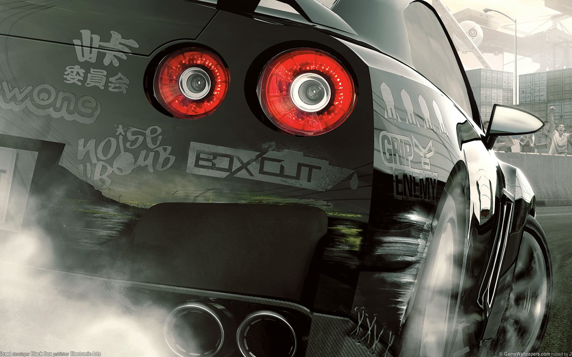 Обои Need For Speed ProStreet 1920x1200