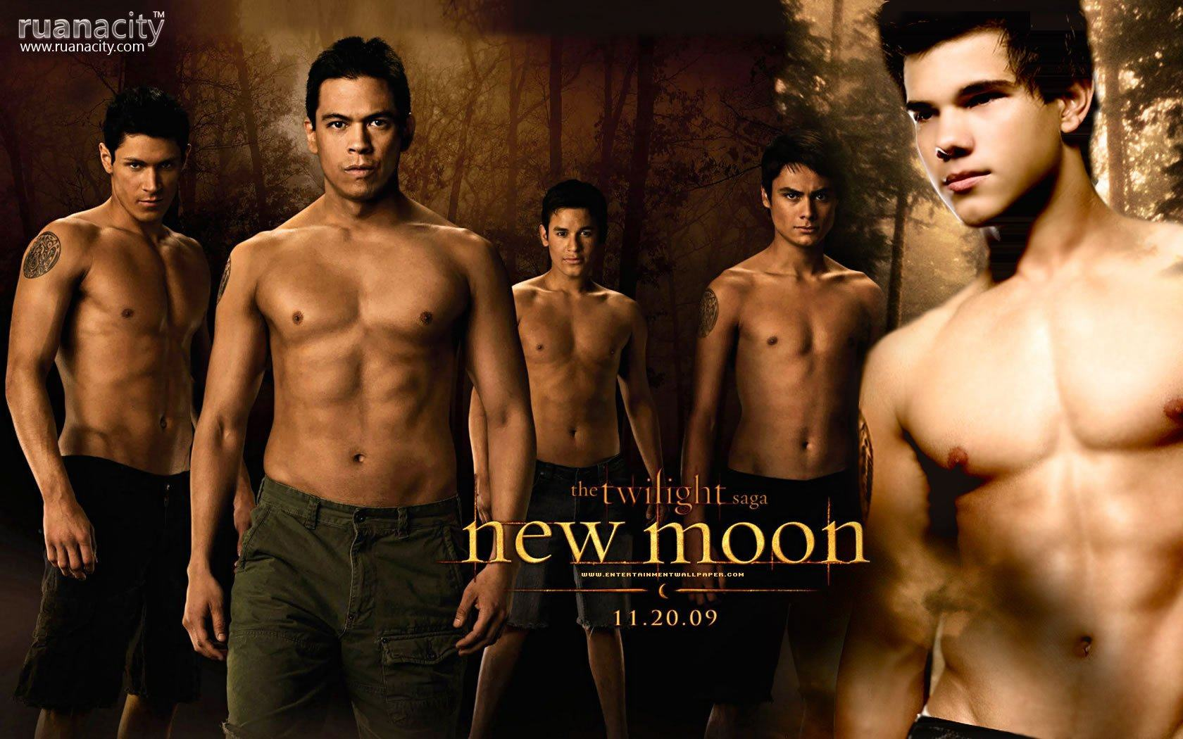 Обои NewMoon werewolves 1680x1050