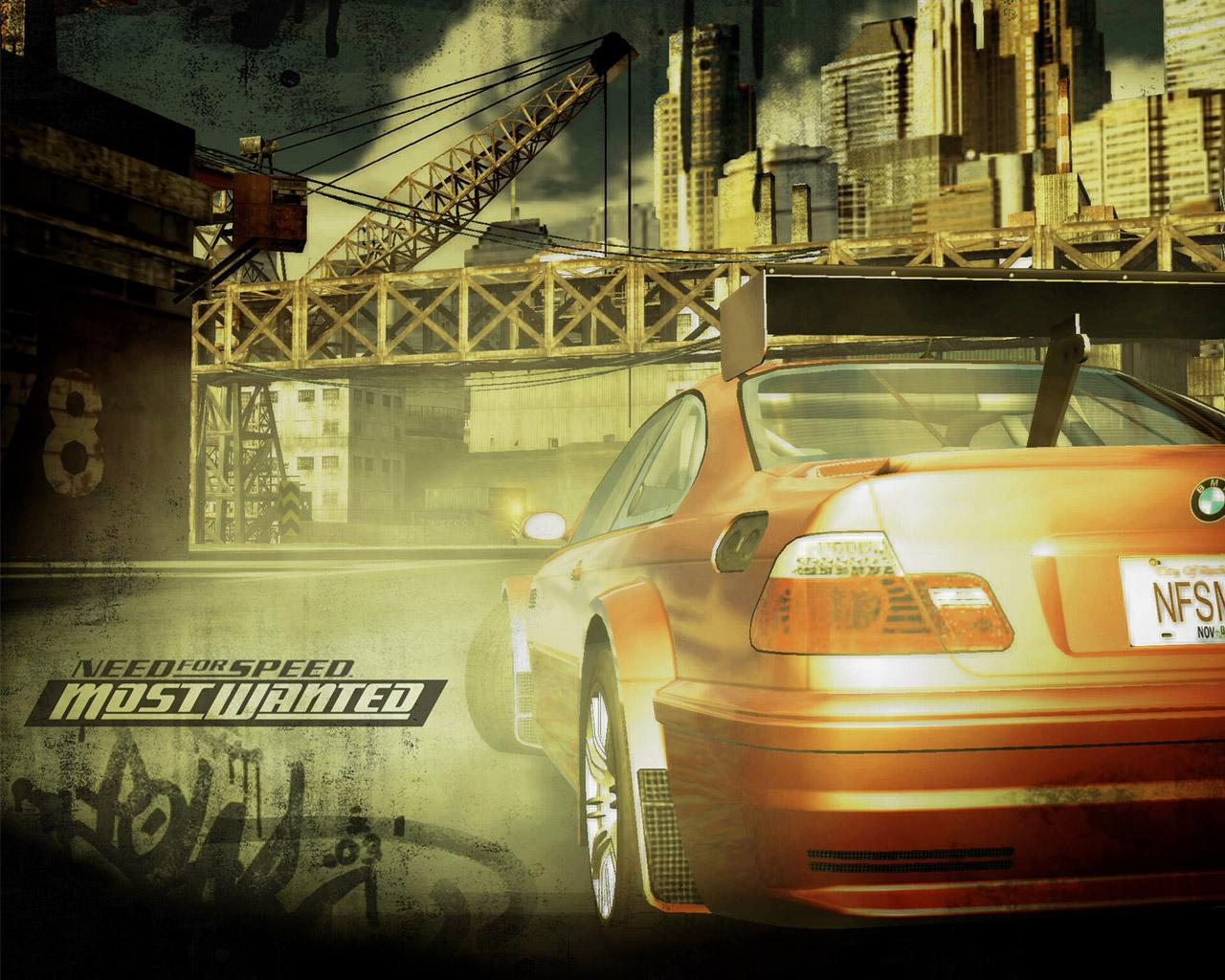 Обои NFS: Most Wanted 1280x1024