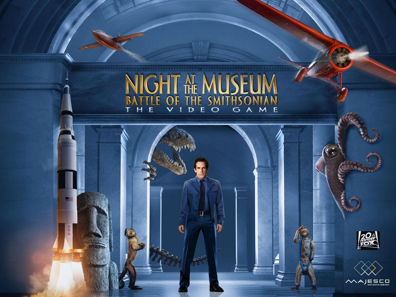 Обои Night at the Museum Battle of the Smithsonian 1600x1200