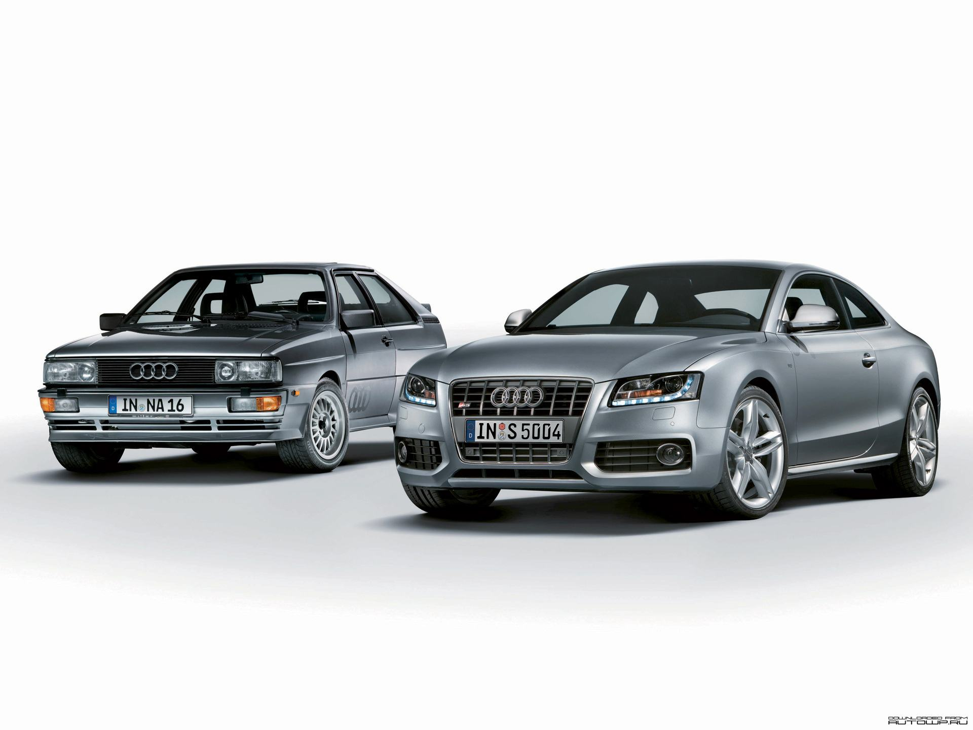 Обои Old and New Audi 1920x1440