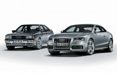 Old and New Audi / 1920x1440