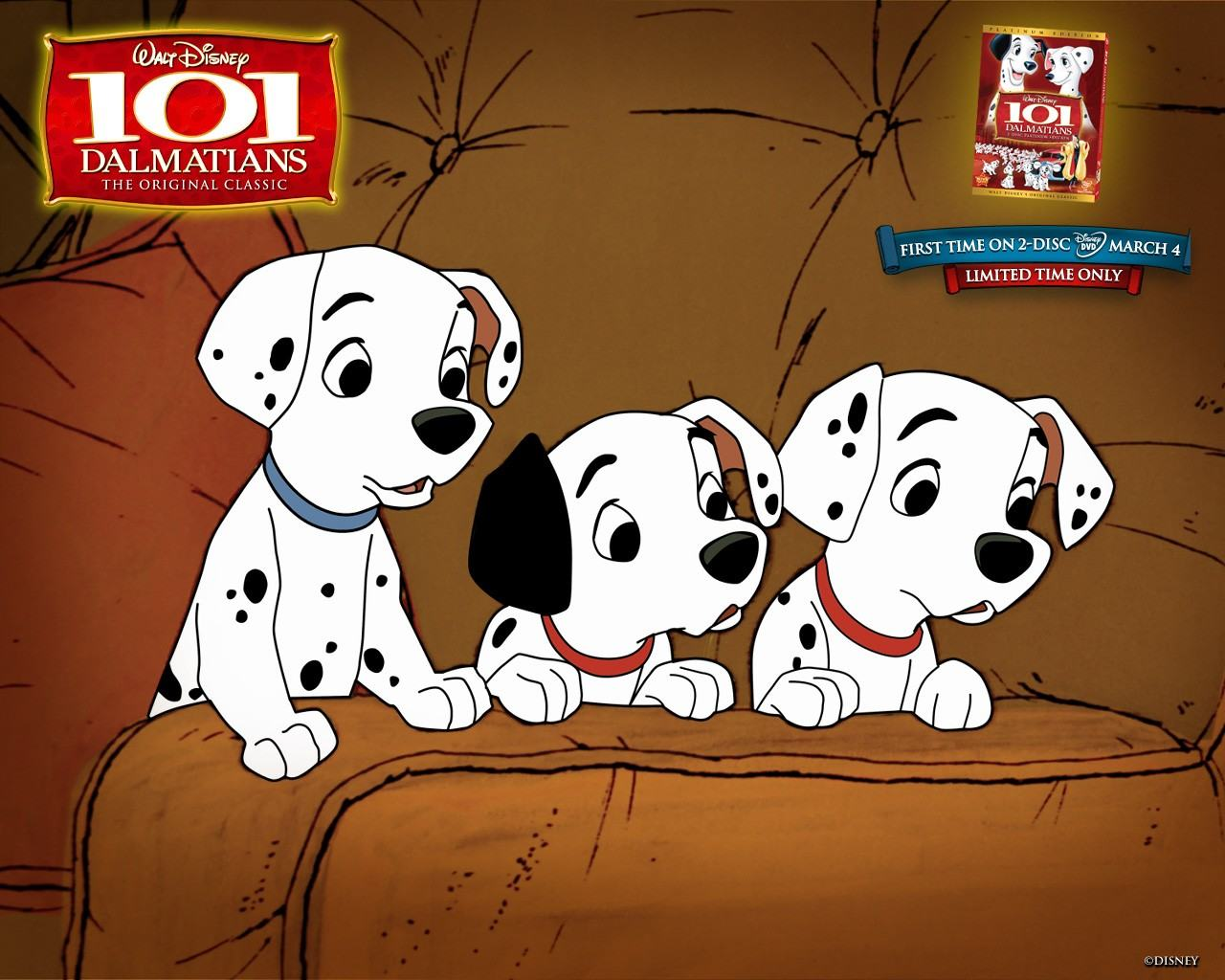 Обои One Hundred and One Dalmatians 1280x1024