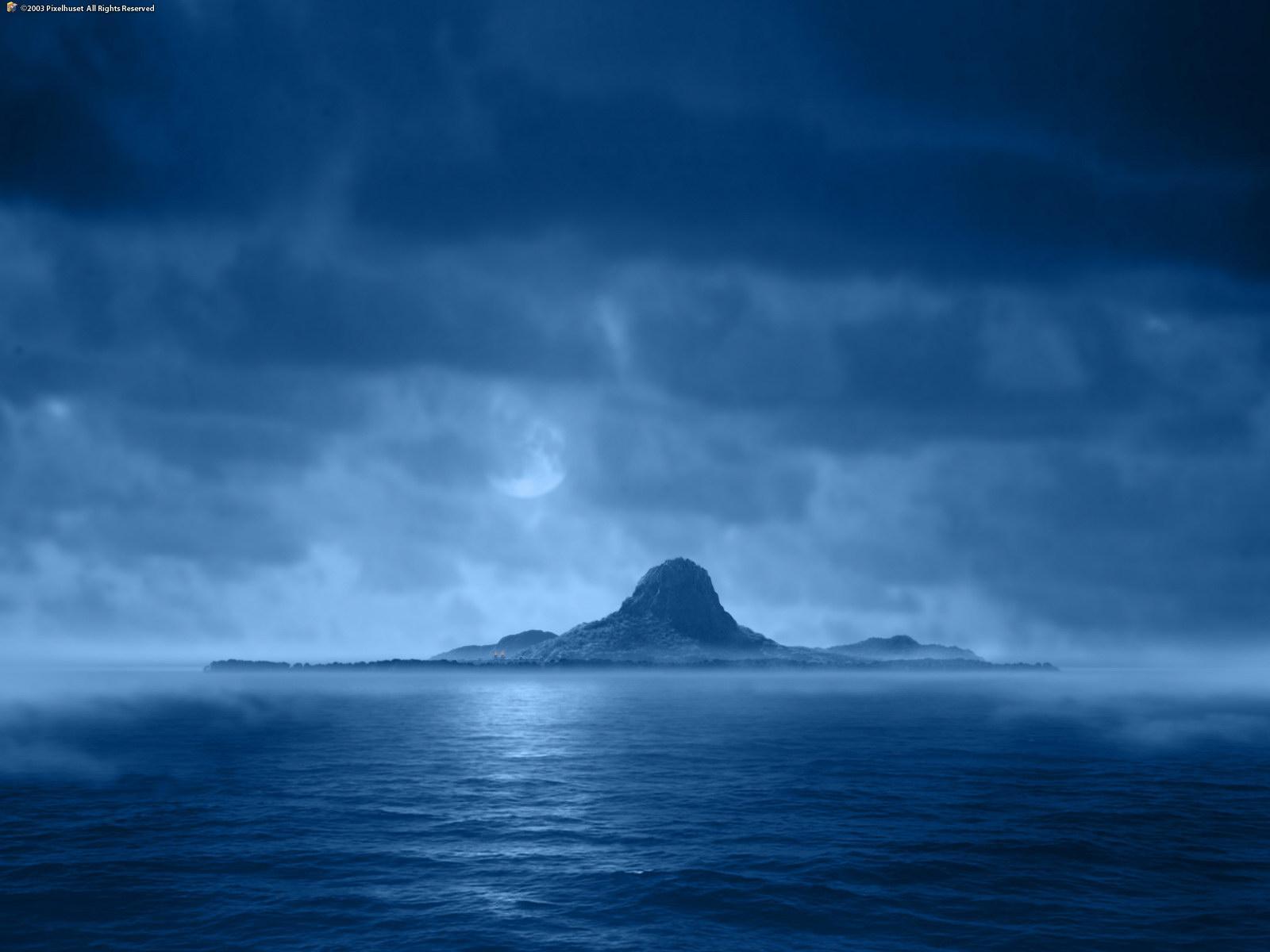 Скачать обои остров сокровищ 1600x1200