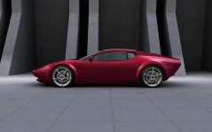 Panthera Concept Maroon Color / 1920x1200
