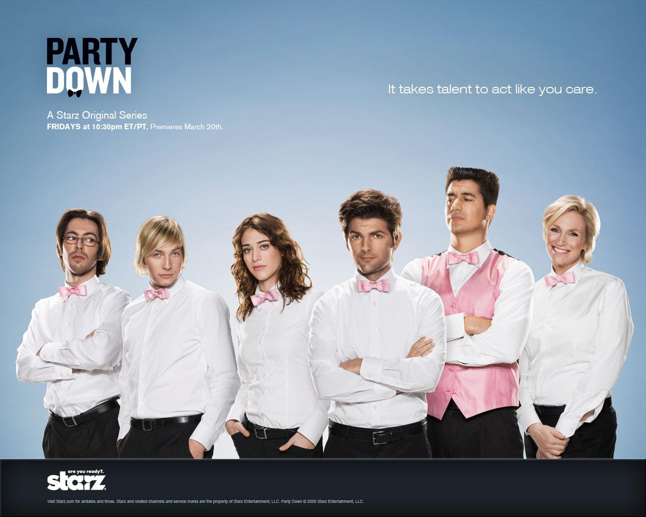 ���� Party Down 1280x1024