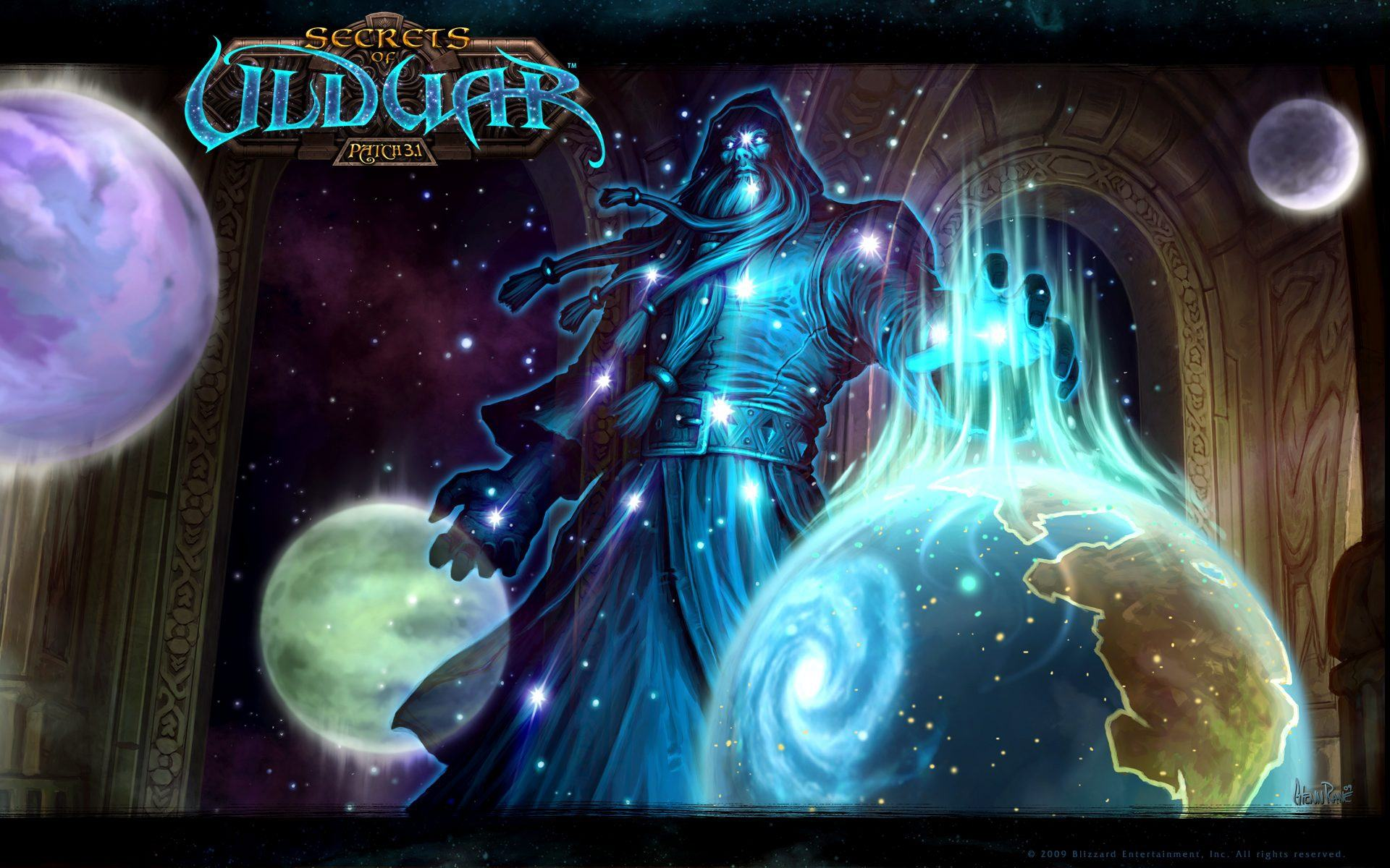 Обои Патч 3.1.0 Secrets of Ulduar 1920x1200