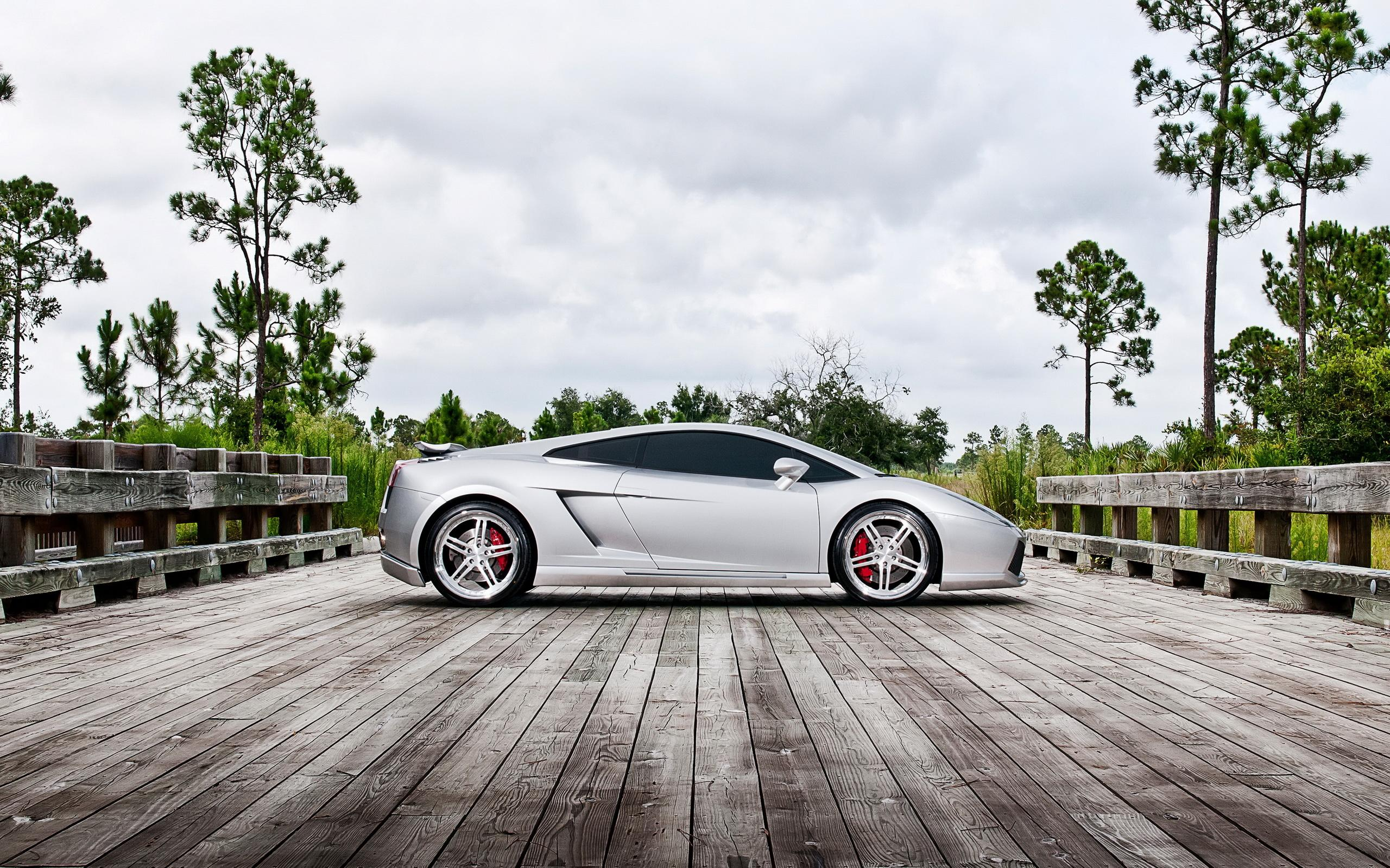 Обои Performance Lamborghini Gallardo 2560x1600