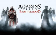 "Персонажи игры Assasin""s Creed Brotherhood / 1920x1080"