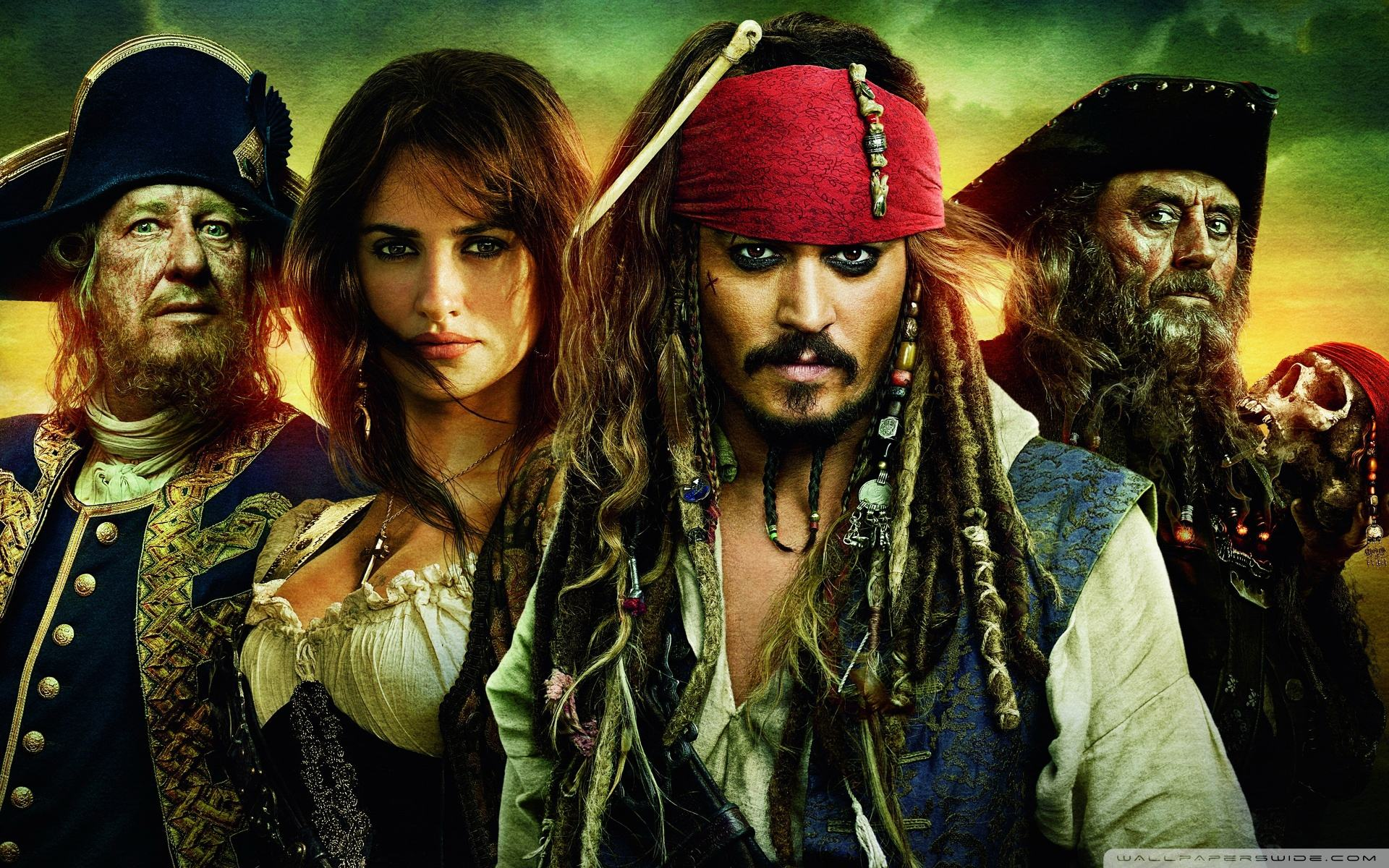 ���� ��������� Pirates of the Caribbean 4 1920x1200