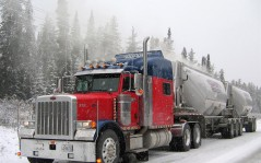 Peterbilt 379 Winter / 1280x960
