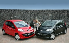 Peugeot 107 Kiss Limited Edition / 1920x1200
