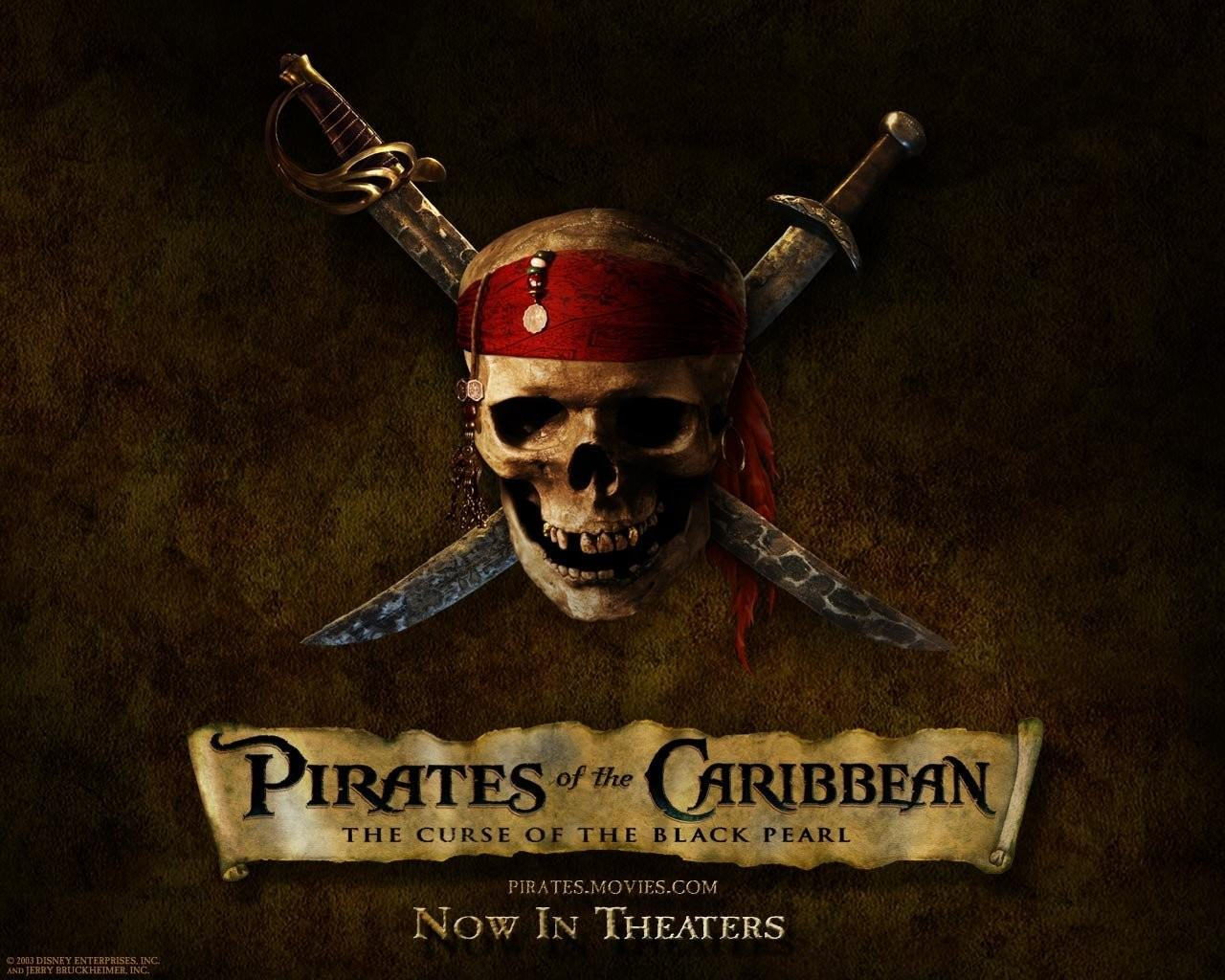 Обои Pirates of the Caribbean 1280x1024