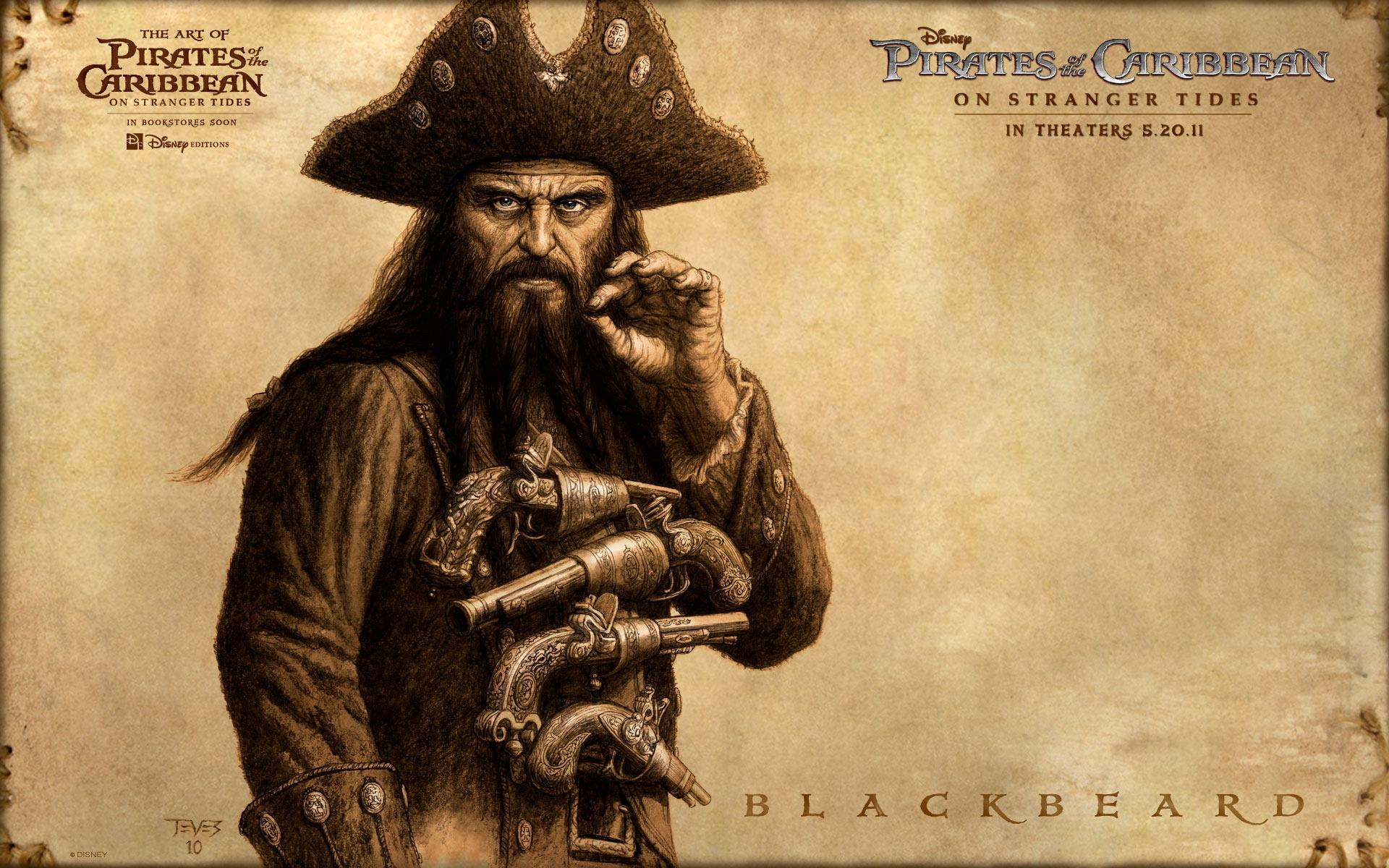 ���� ������ ���������� ���� 4, Blackbeard 1920x1200