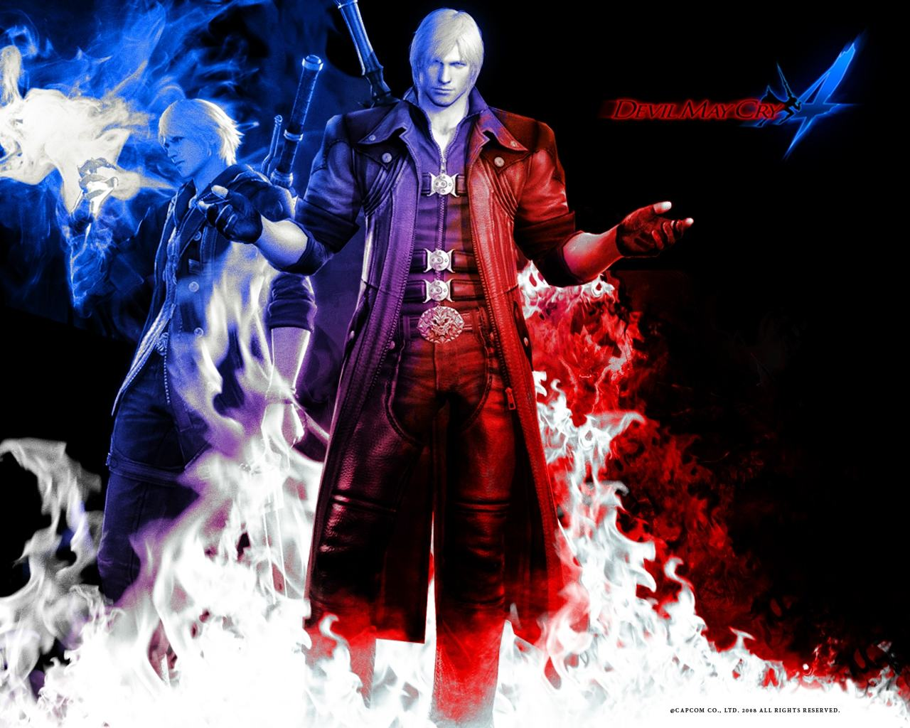 ���� �� ���� Devil May Cry 4 1280x1024