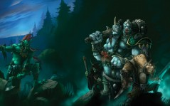 �� �������� MMORPG ���� World Of Warcraft / 1600x1200