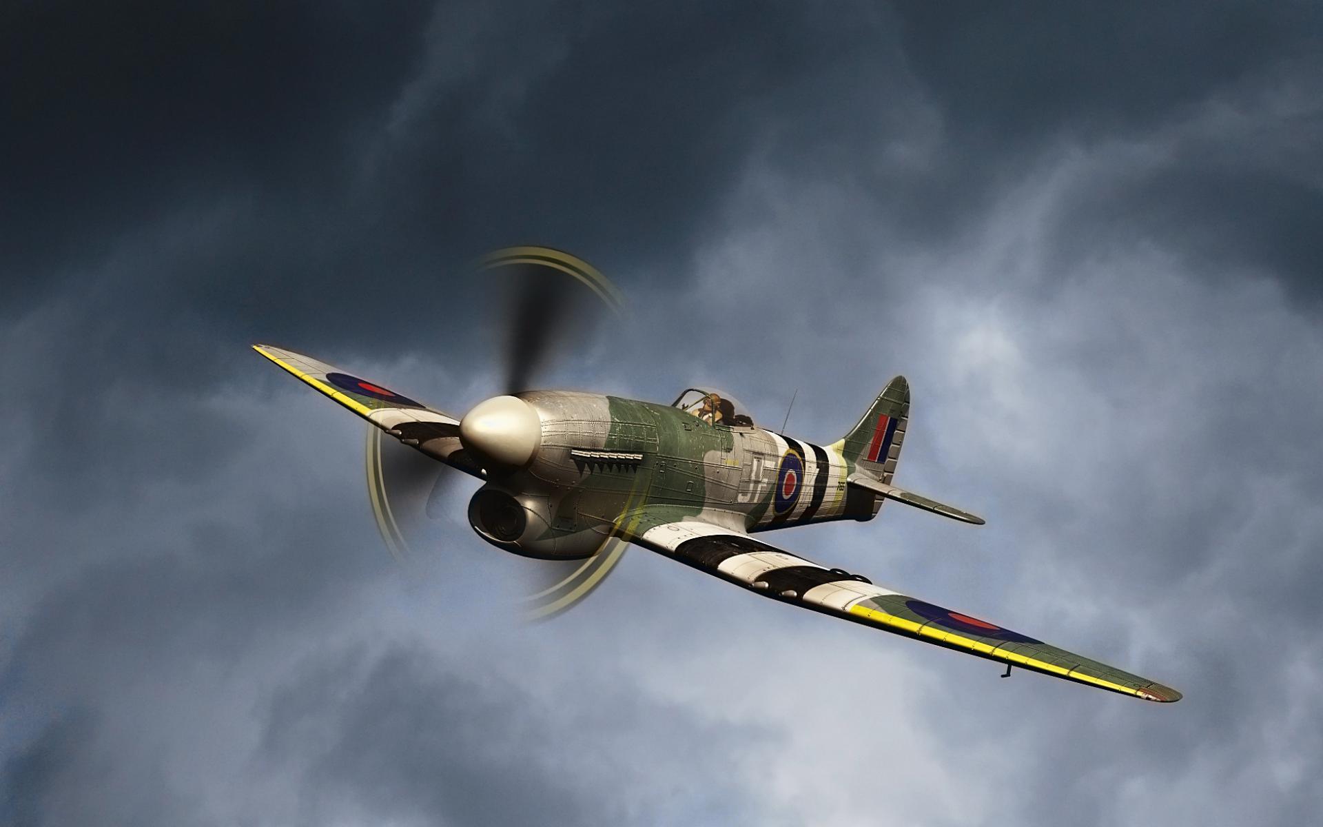 Обои самолетов второй мировой войны рабочего стола 4