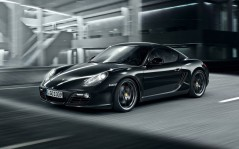 Porsche-Cayman S Black Edition / 1920x1200