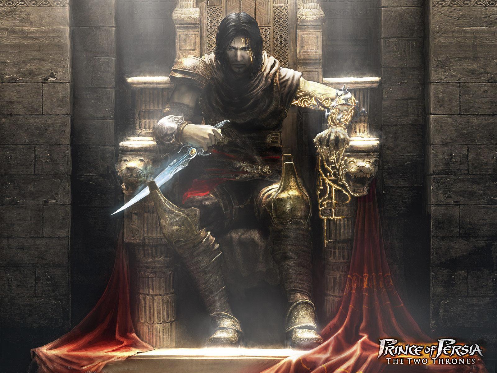 Скачать обои принц персии два трона
