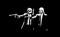 Pulp Fiction в стиле Star Wars / 1440x900