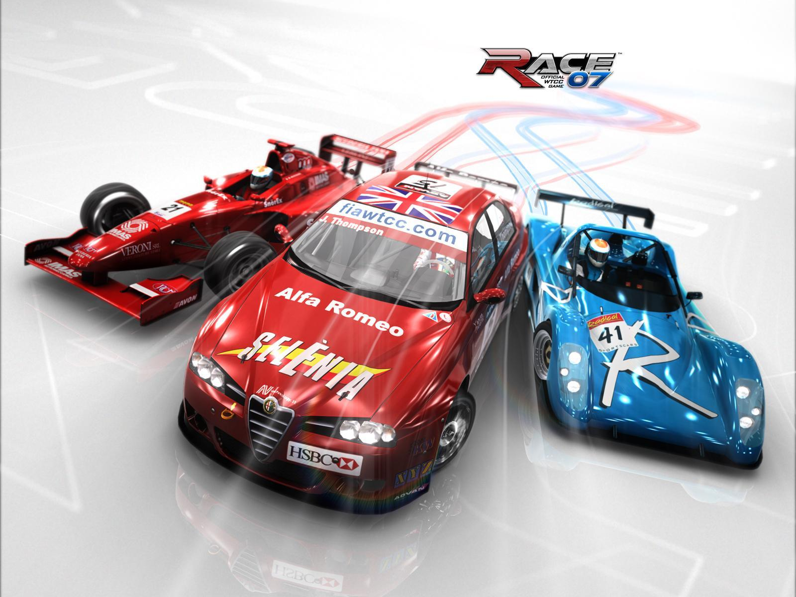 Обои RACE 07 - The official WTCC Game 1600x1200
